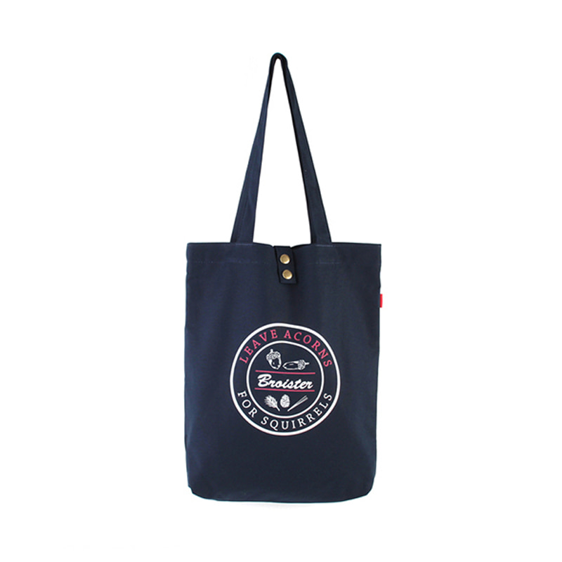 [BROISTER]LAFS CANVAS TOTE BAG NAVY